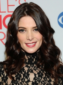 Ashley Greene Glossy Curls Hairstyle