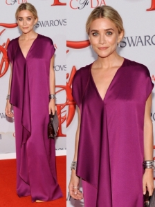 Ashley Olsen in The Row Maxi Dress