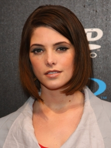 Ashley Greene Smooth Bob Hairstyle