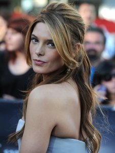 Ashley Greene Sexy Half Updo with Bump