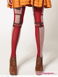 Hansel From Basel Colourblock Tights
