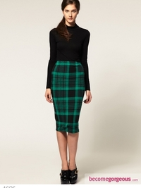 Chic Winter Skirts 2012