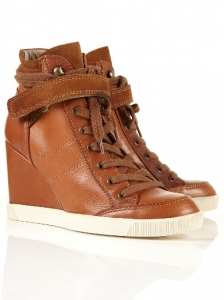 ATHLETIC Vulcanised Sole Wedge Sneakers
