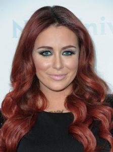 Aubrey ODay's New Red Hair Color