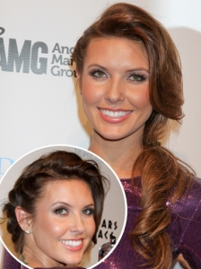 Audrina Patridge Curly Side Pony