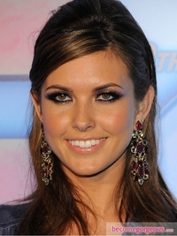 Audrina Patridge Copper Eye Makeup