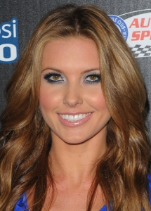 Audrina Patridge Grey Eye Makeup