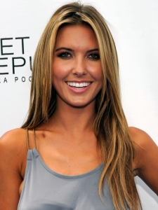 Audrina Patridge Caramel Hair Highlights