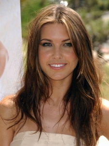 Audrina Patridge's Casual Hairstyle