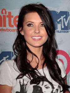 Audrina Patridge Long Curly Hairstyle