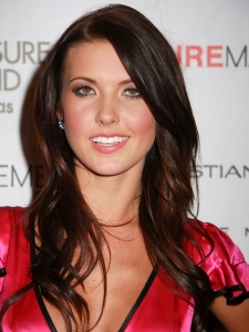 Audrina Patrige with Long Layered Hairstyle