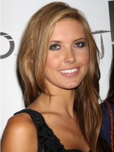 Audrina Patridge Golden Brunette Hairstyle
