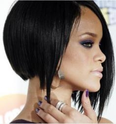 Side View of Rihannas Hair