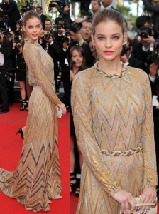 Barbara Palvin in Valetino Couture
