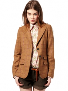 Barbour Tweed Riding Blazer