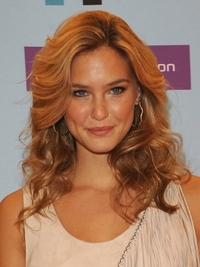 Bar Refaeli Soft Curly Hairstyle