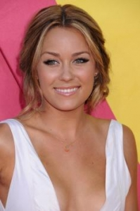 Lauren Conrad with Loose Updo