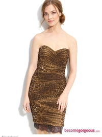 Animal Print Party Dresses