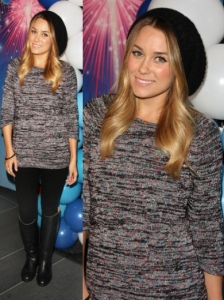 Lauren Conrad in BDG Knit Tunic
