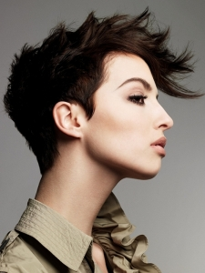 Lovely Short Mohawk Haircut