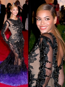 Beyonce in Givenchy Couture Gown