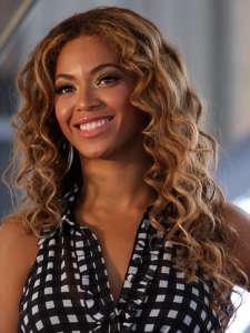 Beyonce Long Spiral Curly Hairstyle