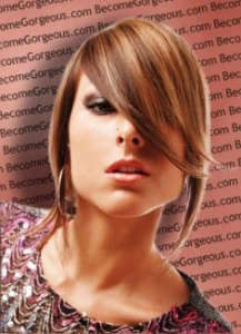 Edgy and Asymmetric Bob Hairstyle