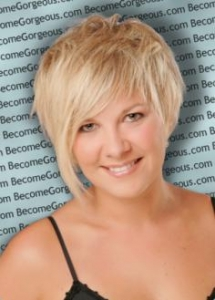 Short Pixie with Side-Swept Bangs
