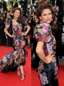 Bianca Balti in Dolce & Gabban Flamenco Dress