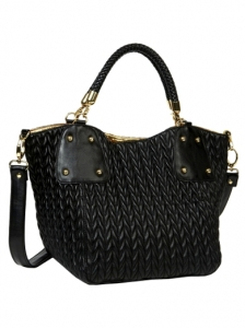 Luxe Black Hobo Bag from Big Buddha