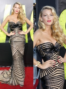 Blake Lively in Zuhair Murad Couture Gown