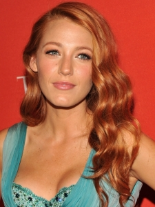 Blake Lively New Red Hair Color