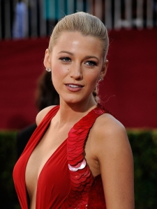 Blake Lively Hairstyle 2009 Emmy Awards
