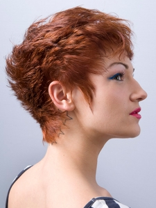Chic Short Choppy Layered Haircut