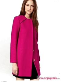 Winter Bright Coats Trend