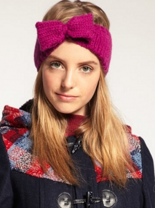 Lowie Wool Bow Headband