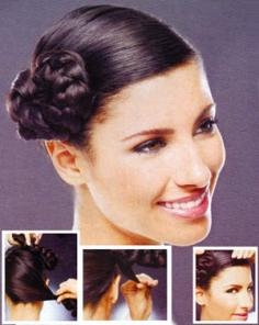 Side Braided Chignon