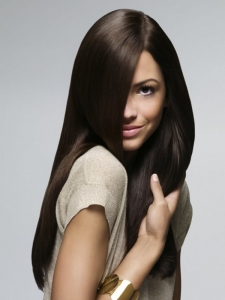 Gorgeous Sleek Long Hairstyle