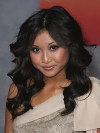 Brenda Song Long Curly Hairstyle