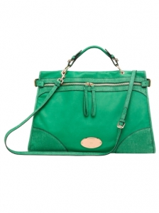 Bright Cabbage Taylor Oversized Satchel