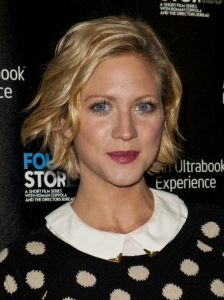 Brittany Snow Wavy Bob Haircut