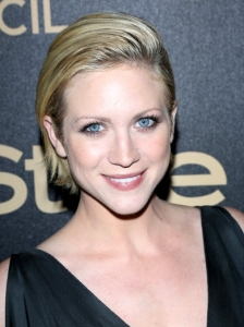 Brittany Snow Slicked Down Bob Hairstyle