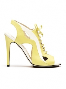 Burak Uyan Architectural Yelow Sandals