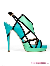 Burak Uyan Cut-Out Bright Sandals