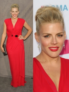 Busy Phillips in Antonio Berardi Dress