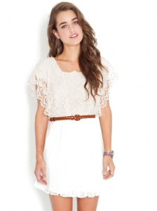 Calla Crochet Dress