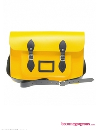 Cambridge Neon Yellow Satchel Bag