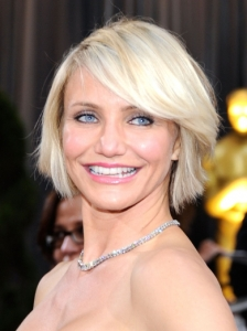 Cameron Diaz's Hairstyle from the 2012 Oscars