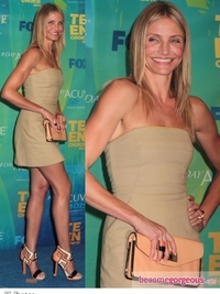 Cameron Diaz in ALC Mini Dress