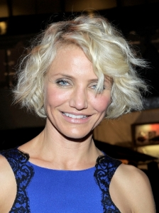 Cameron Diaz New Short Bob Haircut